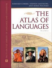 The Atlas of Languages 2nd edition 9780816051236 0816051232