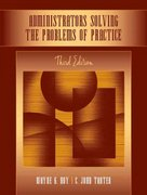 Administrators Solving the Problems of Practice 3rd Edition 9780205508013 0205508014
