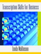 Transcription Skills for Business 6th edition 9780130254375 0130254371