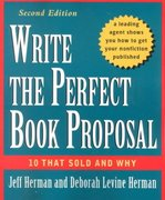Write the Perfect Book Proposal 2nd edition 9780471353126 0471353124