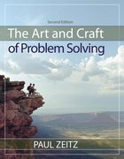 The Art and Craft of Problem Solving 2nd Edition 9780471789017 0471789011