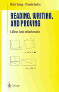 Reading, Writing, and Proving 1st edition 9780387008349 0387008349