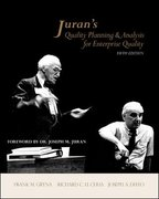 Juran's Quality Planning and Analysis for Enterprise Quality 5th Edition 9780072966626 0072966629