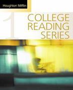 Houghton Mifflin College Reading Series, Book 1 2nd edition 9780618541867 0618541861