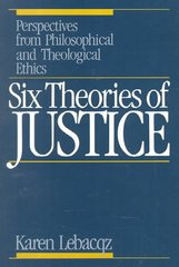 Six Theories of Justice 1st Edition 9780806622453 0806622458