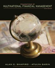 Foundations of Multinational Financial Management 6th Edition 9780470128954 047012895X