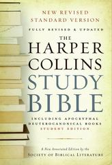 HarperCollins Study Bible 1st Edition 9780060786830 0060786833