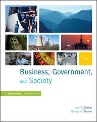 Business, Government and Society: A Managerial Perspective 12th Edition 9780073405056 0073405051