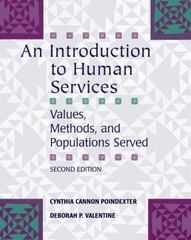 An Introduction to Human Services 2nd Edition 9781285947792 1285947797
