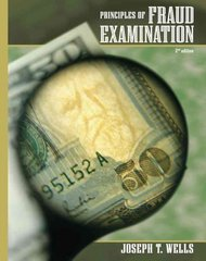 Principles of Fraud Examination 2nd Edition 9780470128831 0470128836