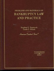 Problems and Materials on Bankruptcy 1st edition 9780314171740 0314171746