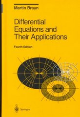 Differential Equations and Their Applications 4th Edition 9780387978949 0387978941