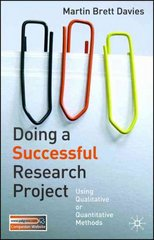 Doing a Successful Research Project 1st edition 9781403993793 1403993793