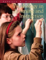 Psychology in Learning and Instruction 1st Edition 9780139748745 0139748741