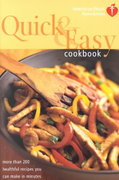 American Heart Association Quick & Easy Cookbook 0 9780609808627 0609808621