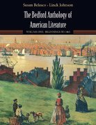 The Bedford Anthology of American Literature 1st edition 9780312412074 031241207X
