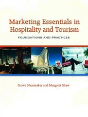 Marketing Essentials in Hospitality and Tourism 1st edition 9780131708273 0131708279
