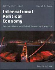 International Political Economy 4th edition 9780312189693 0312189699