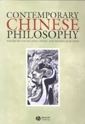 Contemporary Chinese Philosophy 1st edition 9780631217251 0631217258