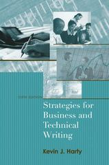Strategies for Business and Technical Writing 6th edition 9780205562060 020556206X