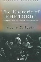 The Rhetoric of RHETORIC 1st edition 9781405112376 1405112379