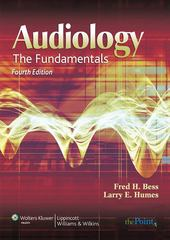 Audiology 4th Edition 9780781766432 0781766435