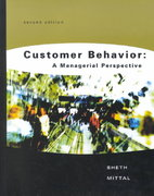 Customer Behavior 2nd Edition 9780030343360 0030343364