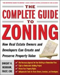 The Complete Guide to Zoning 1st edition 9780071443791 0071443797