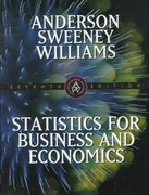 Statistics for Business and Economics 7th edition 9780538875936 0538875933