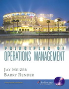 Principles of Operations Management 5th edition 9780131406391 0131406396