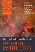 The Oxford Handbook of Political Institutions 0 9780199275694 0199275696
