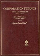 Cases and Materials on Corporation Finance 3rd edition 9780314225603 0314225609