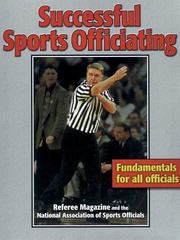 Successful Sports Officiating 1st edition 9780880117487 0880117486