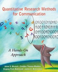 Quantitative Research Methods for Communication 1st Edition 9780195337471 0195337476