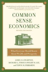 Common Sense Economics 1st edition 9780312338183 031233818X