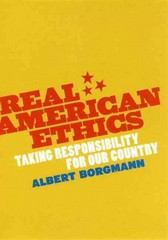 Real American Ethics 0 9780226066349 0226066347