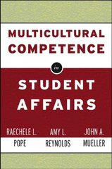 Multicultural Competence in Student Affairs 1st Edition 9780787962074 0787962074