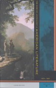 The Norton Anthology of American Literature 6th edition 9780393979053 0393979059