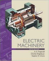 Electric Machinery 6th edition 9780073660097 0073660094