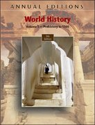 World History, Volume 1 9th edition 9780073397405 0073397407