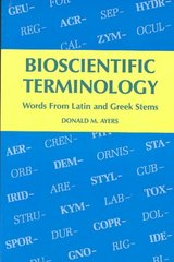 Bioscientific Terminology 1st Edition 9780816503056 0816503052
