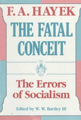 The Fatal Conceit 1st Edition 9780226320663 0226320669