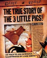 The True Story of the Three Little Pigs 2nd Edition 9780140544510 0140544518