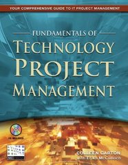 Fundamentals of Technology Project Management 0 9781583470534 1583470530