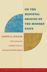 On the Medieval Origins of the Modern State 2nd Edition 9780691121857 0691121850