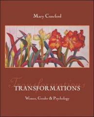 Transformations: Women, Gender, and Psychology with Sex &amp. Gender Online Workbook 1st edition 9780073201955 0073201952