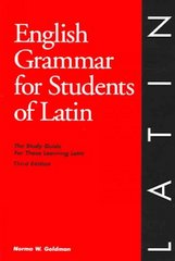 English Grammar for Students of Latin 3rd edition 9780934034340 0934034346