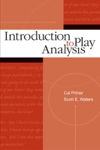 Introduction to Play Analysis 1st Edition 9780072500325 0072500328