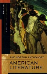 The Norton Anthology of American Literature 7th edition 9780393927412 0393927415
