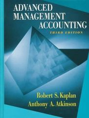 Advanced Management Accounting 3rd edition 9780132622882 0132622882